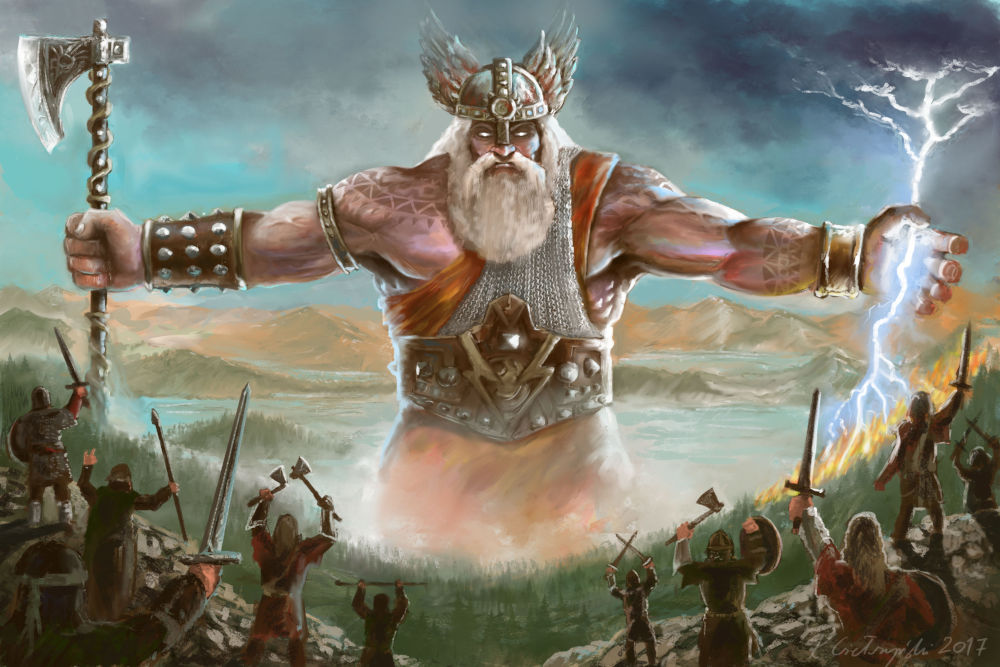 Perun – mighty god of thunder, storms and heavenly heights