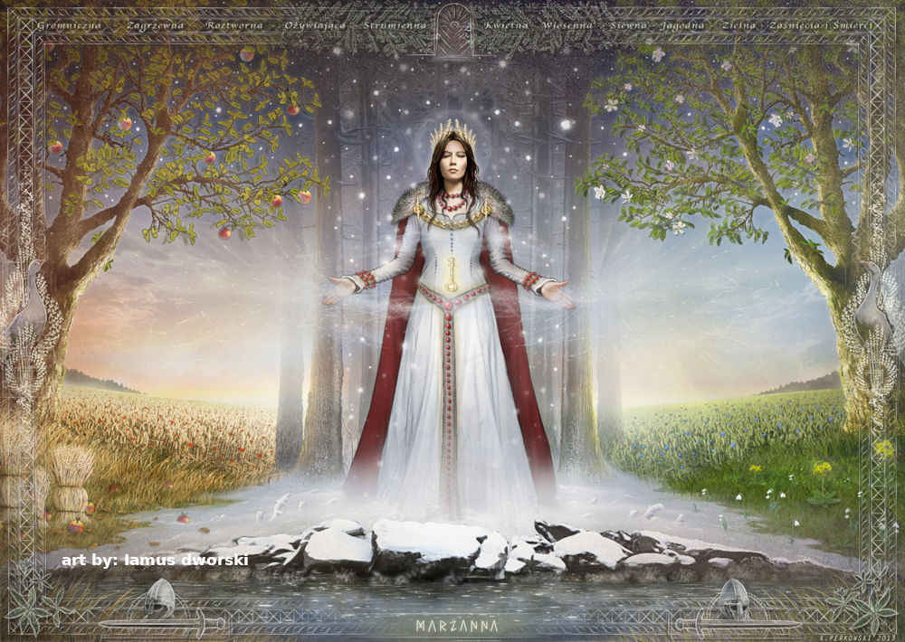 Morana - Slavic goddess of winter, death and misfortune in love