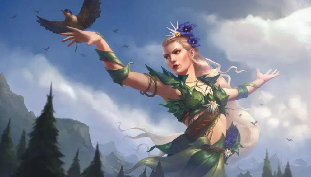 Vesna – the goddess of spring, love and harmony