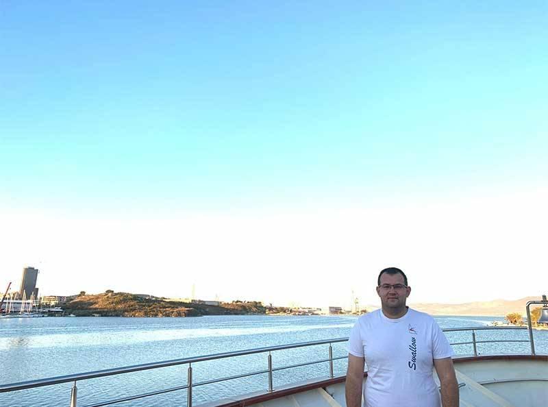 Boat Manager Toni Bačić